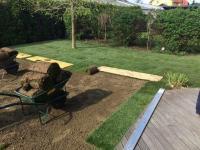 postopek polaganja trave - zadnja faza